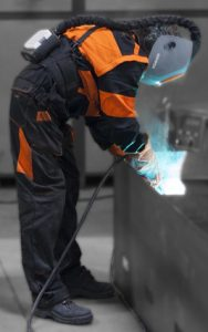 Welding in confined spaces: welding fume extraction is necessary