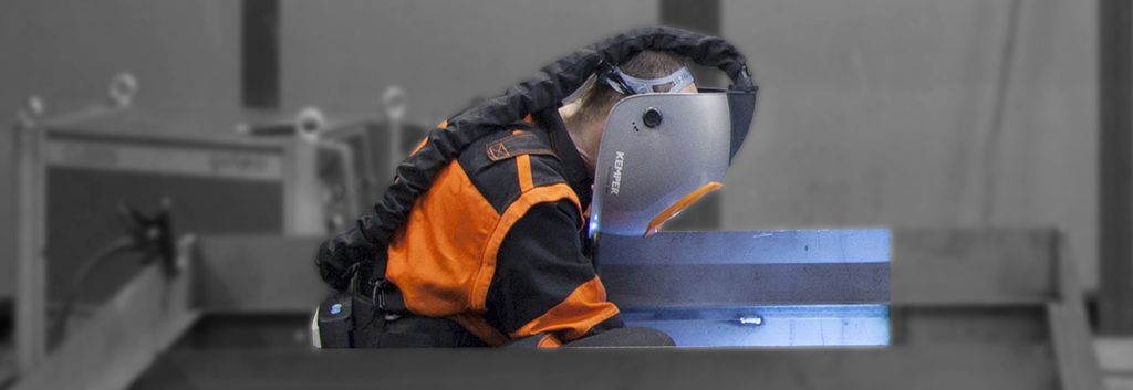 Welding in confined spaces: clean air for welders