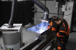 occupational safety against welding fumes