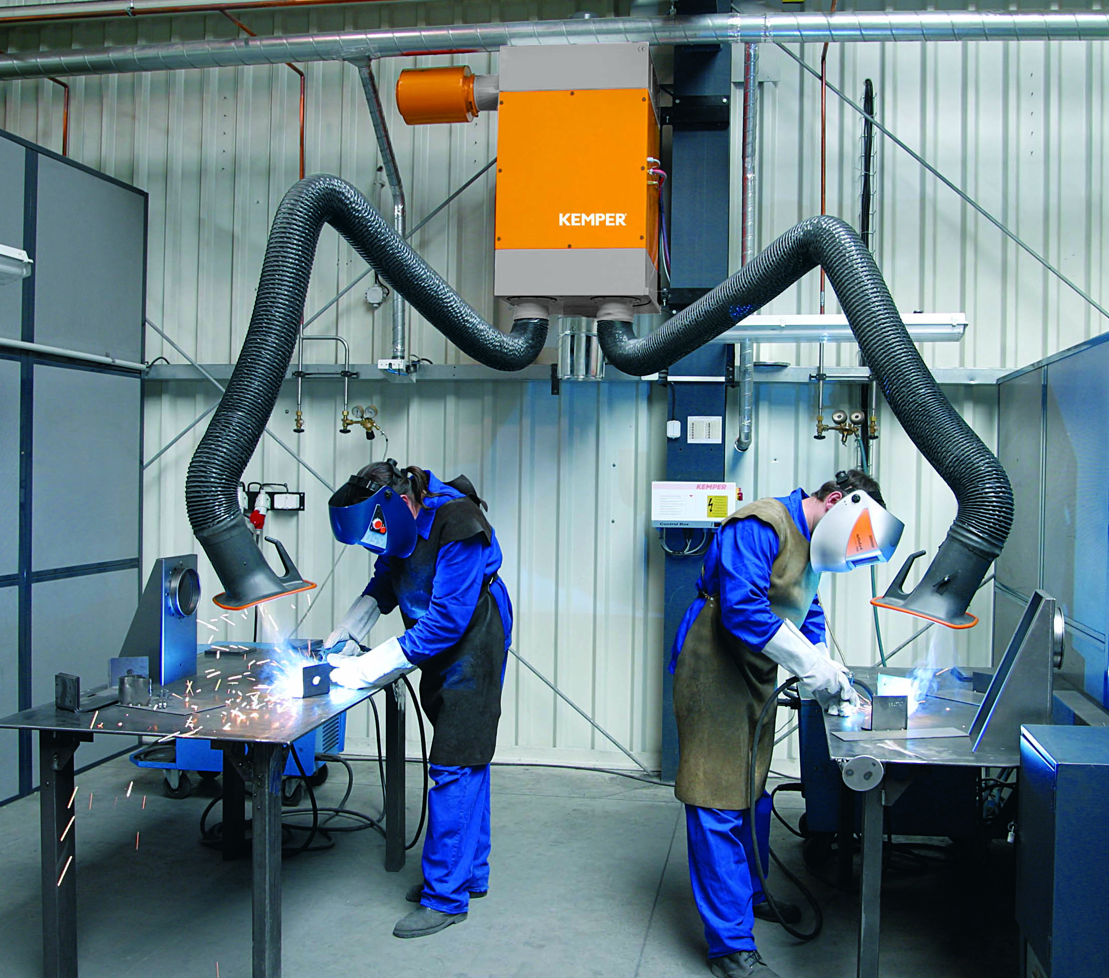 Extraction systems for welding fumes at a glance