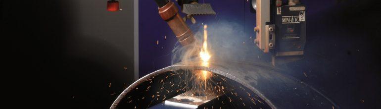 Auch beim Laserschweißen entsteht Schweißrauch.